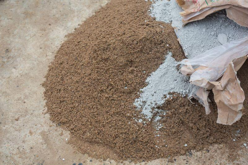 A helyes cement sóder arány biztosítja a beton jó minőségét