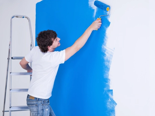 festés lépései