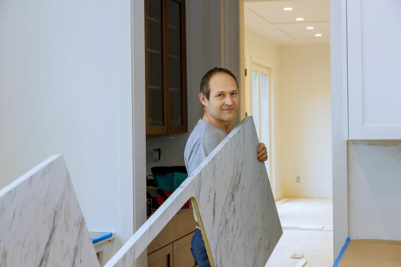 konyhapult magassága átlagosan 90 cm, de igazítsuk a lakók igényeihez