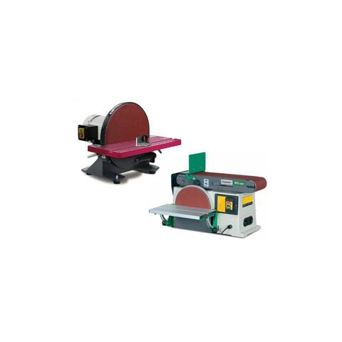Asztali csiszológép, tányéros csiszológép, állványos szalagcsiszoló