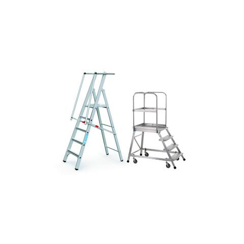 Dobogós lépcsők mobil illetve rögzített kivitelben