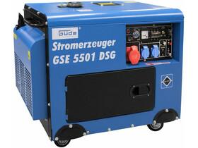 Güde GSE 5501 DSG dízelmotoros háromfázisú csendesített áramfejlesztő