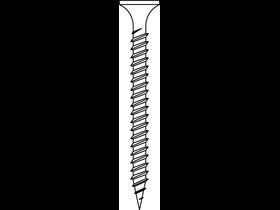 Senco 3,9x25 mm gipszkarton csavar könnyű fémprofilhoz 39B25MP