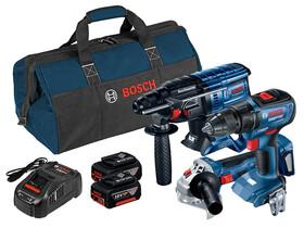 Bosch GBH 180-LI+GSR 18V-50+GWS 180-LI gépcsomag