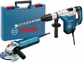 Bosch GBH 5-40 DCE + GWS 9-125 JK gépcsomag