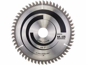 Bosch MultiMaterial ø 190 x 2,4 / 1,8 x 30 mm körfűrészlap