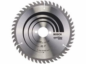 Bosch Optiline Wood ø 190 x 2,0 / 1,3 x 30 mm körfűrészlap