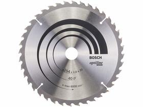 Bosch Optiline Wood ø 254 x 2,0 / 1,4 x 30 mm körfűrészlap