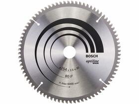 Bosch Optiline Wood ø 254 x 2,5 / 1,8 x 30 mm körfűrészlap