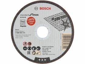 Bosch Standard for Inox WA 60 T BF Rapido ø 125 x 1,0 mm, ø 22,23 mm vágókorong
