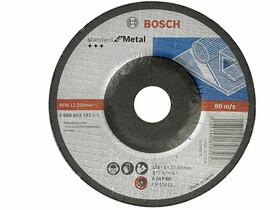 Bosch Standard for Metal A 24 P BF ø 125 x 6,0 mm, ø 22,23 mm csiszolótárcsa