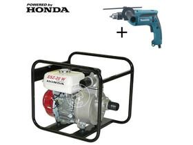 ESZ-20 W vízszivattyú Honda motorral