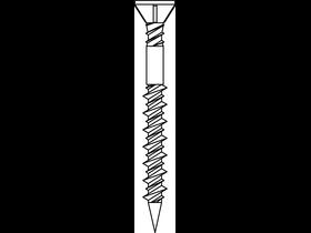 Senco 4,2x55 mm facsavar 42Z55MY