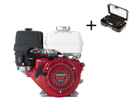 Honda GX-270 V kúpos főtengelyű berántós motor