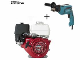 Honda GX-270 S Ø25 mm főtengelyű berántós motor