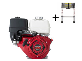 Honda GX-390 S Ø25 mm főtengelyű berántós motor