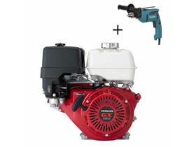 Honda GX-390 V kúpos főtengelyű berántós motor