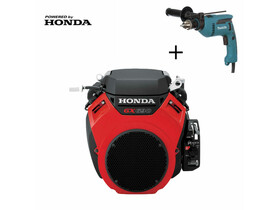 Honda GX-630 V kúpos főtengelyű önindítós motor
