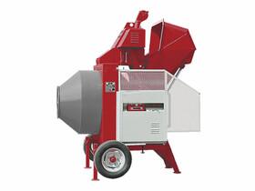 IMER BIR400 félautomata dízel motoros betonkeverő (Kohler)