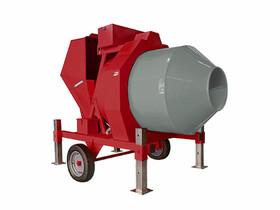 IMER BIR500 félautomata dízel motoros betonkeverő (Kohler)
