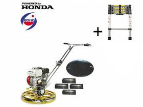 Jeonil JMT-24 rotoros betonsimító Honda motorral