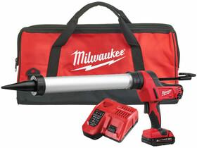 Milwaukee C18PCG/600A-201B akkus kittkinyomó pisztoly