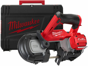 Milwaukee M12FBS64-0X akkus kézi szalagfűrész