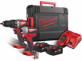 Milwaukee M18BLPP2A2-502X gépcsomag