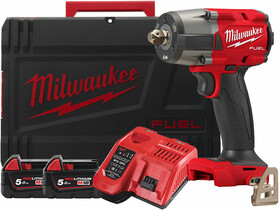 Milwaukee M18FMTIW2P12-502X akkus ütvecsavarozó