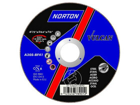 Norton ABRASIVES fém 125x1.0 mm