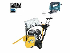 NTC RZ 120 K KOHLER benzinmotoros aszfaltvágó