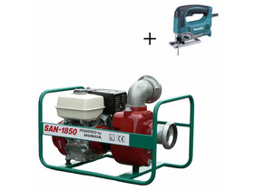 SAN-1850 szennyvízszivattyú Honda benzinmotorral