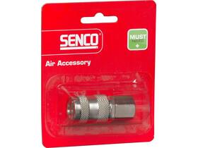 Senco 1/4 inch levegős belső menetes gyorscsatlakozó 4000370