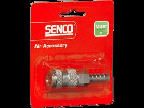 Senco 9,5 mm levegős kuplungos tömlővéges gyorscsatlakozó 4000420