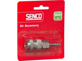 Senco 6 mm levegős kuplungos tömlővéges gyorscsatlakozó 4000400