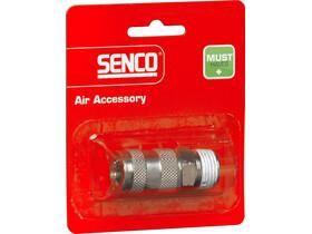 Senco 1/2 inch levegős külső menetes gyorscsatlakozó 4000320