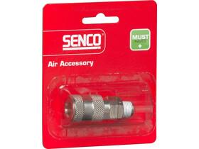 Senco 1/4 inch levegős külső menetes gyorscsatlakozó 4000300