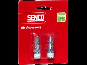 Senco 1/4 inch levegős külső menetes gyorscsatlakozó 4000060