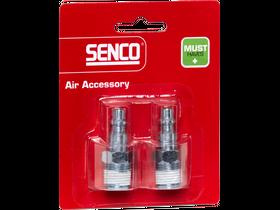 Senco 1/4 inch levegős külső menetes gyorscsatlakozó 4000100