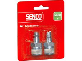 Senco 1/2 inch levegős külső menetes gyorscsatlakozó 4000120