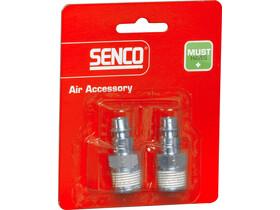 Senco 3/8 inch levegős külső menetes gyorscsatlakozó 4000110
