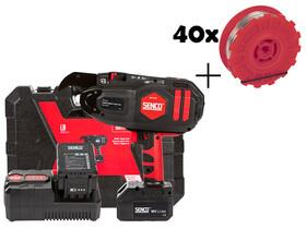 Senco SRT40 akkus betonvas kötözőgép+ajándék