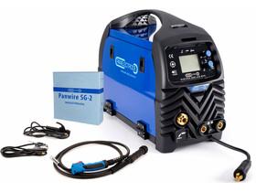 Panelectrode MIG/MMA 200 LCD SYN fogyóelektródás védőgázas inverteres hegesztő