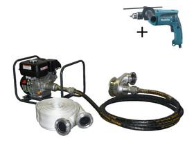 TR JIP 3M/6,5 K spirálos meghajtású Kohler motoros zagyszivattyú
