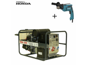TRH 300 Honda motoros hegesztő-áramfejlesztő