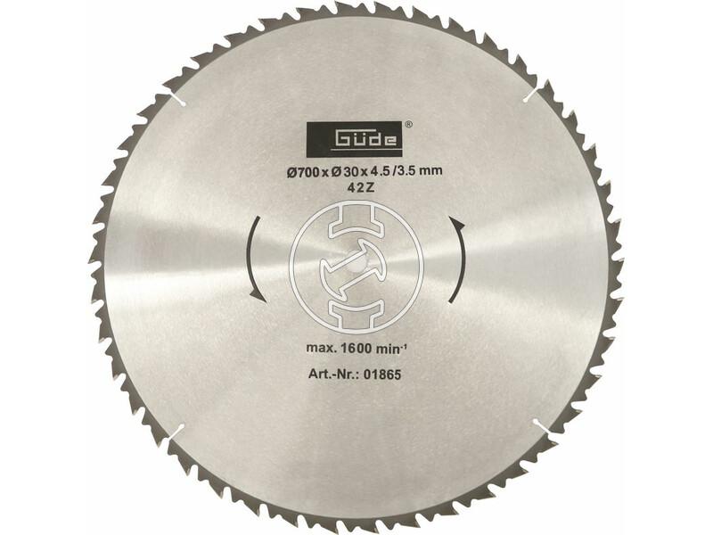 Güde HM 700/30/42 körfűrészlap