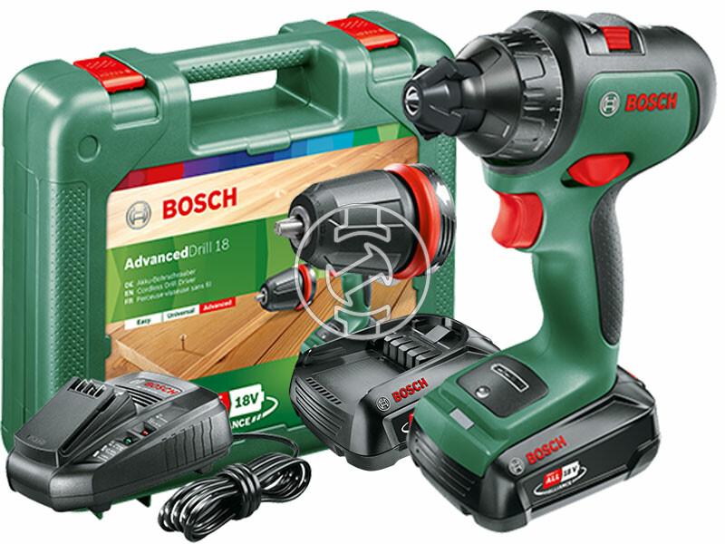 Bosch AdvancedDrill 18 akkus fúrócsavarozó tokmányos