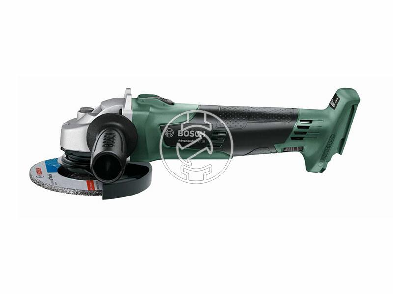 Bosch AdvancedGrind 18 akkus sarokcsiszoló akku és töltő nélkül