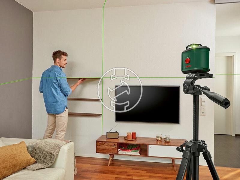 Bosch AdvancedLevel 360+TT 150 vonallézer