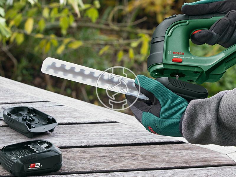 Bosch AdvancedShear 18 akkus sövényvágó